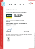 ISO 9001 & ISO 14001 - certification Diemlach